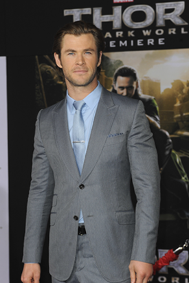 Weight Becomes a Thor Subject for Chris Hemsworth