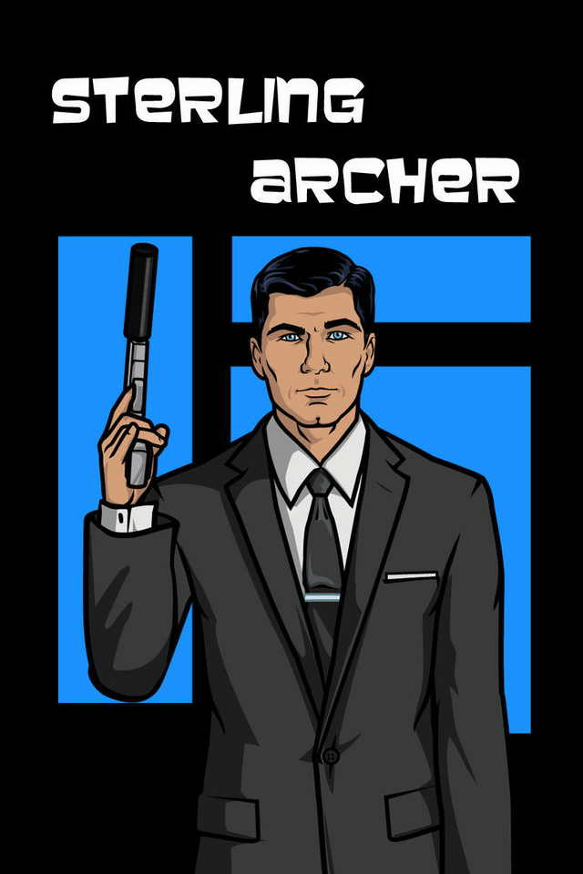 Archer Hd Wallpapers And Backgrounds Archer Cartoon Sterling Archer Archer Show