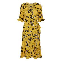 Flower Co'couture Couture Kjole Yellow Callie 00vTCwq