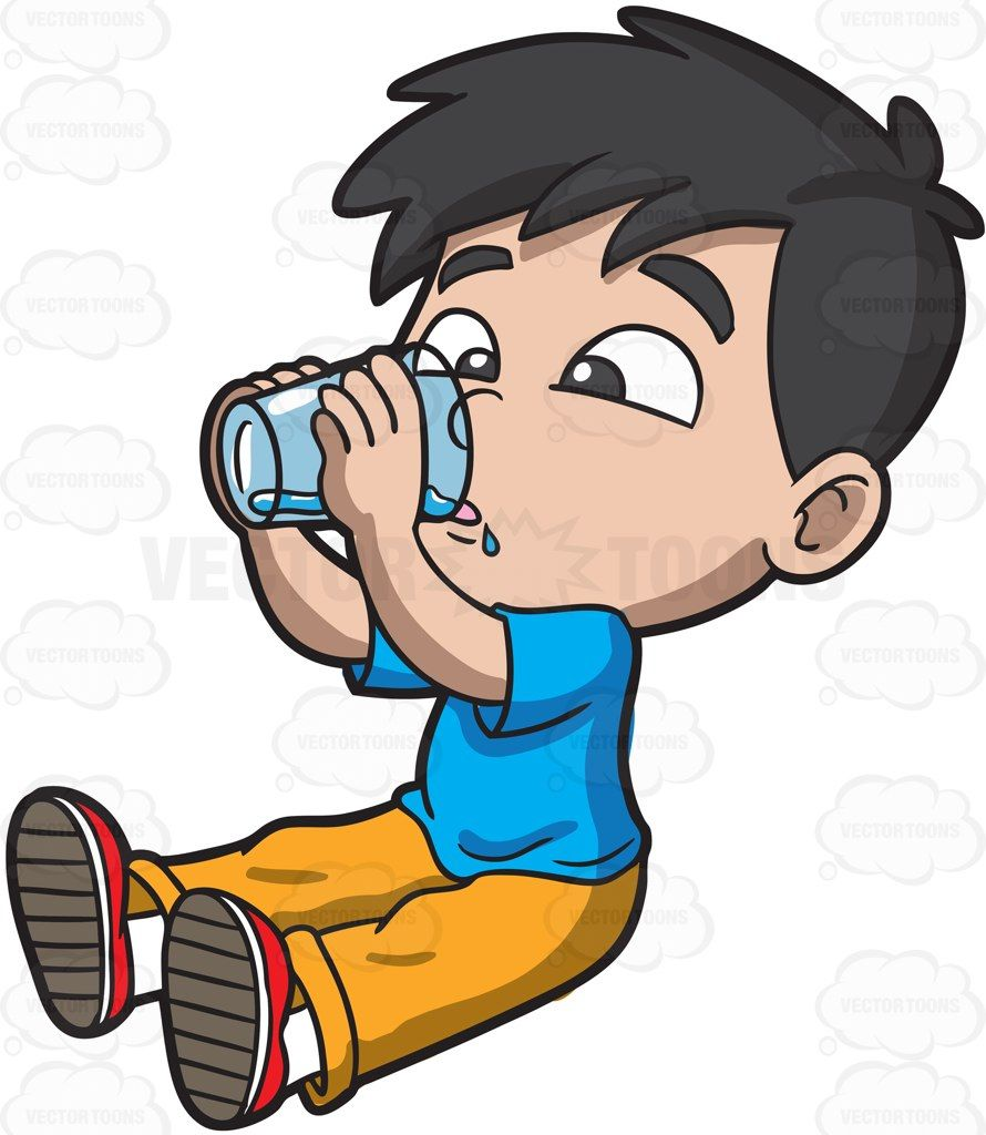 a thirsty young boy drinking water drinking water and young boys rh pinterest com LDS Clip Art Heavenly Father LDS Clip Art Heavenly Father