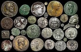 UNIVERSEBOOKBLOG: How to clean antique coins- Roman coin Project