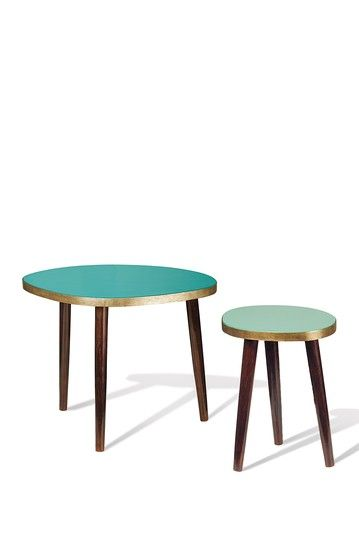 Blue Midtown Coffee Tables - Set of 2 by Foreside Home & Garden on @HauteLook