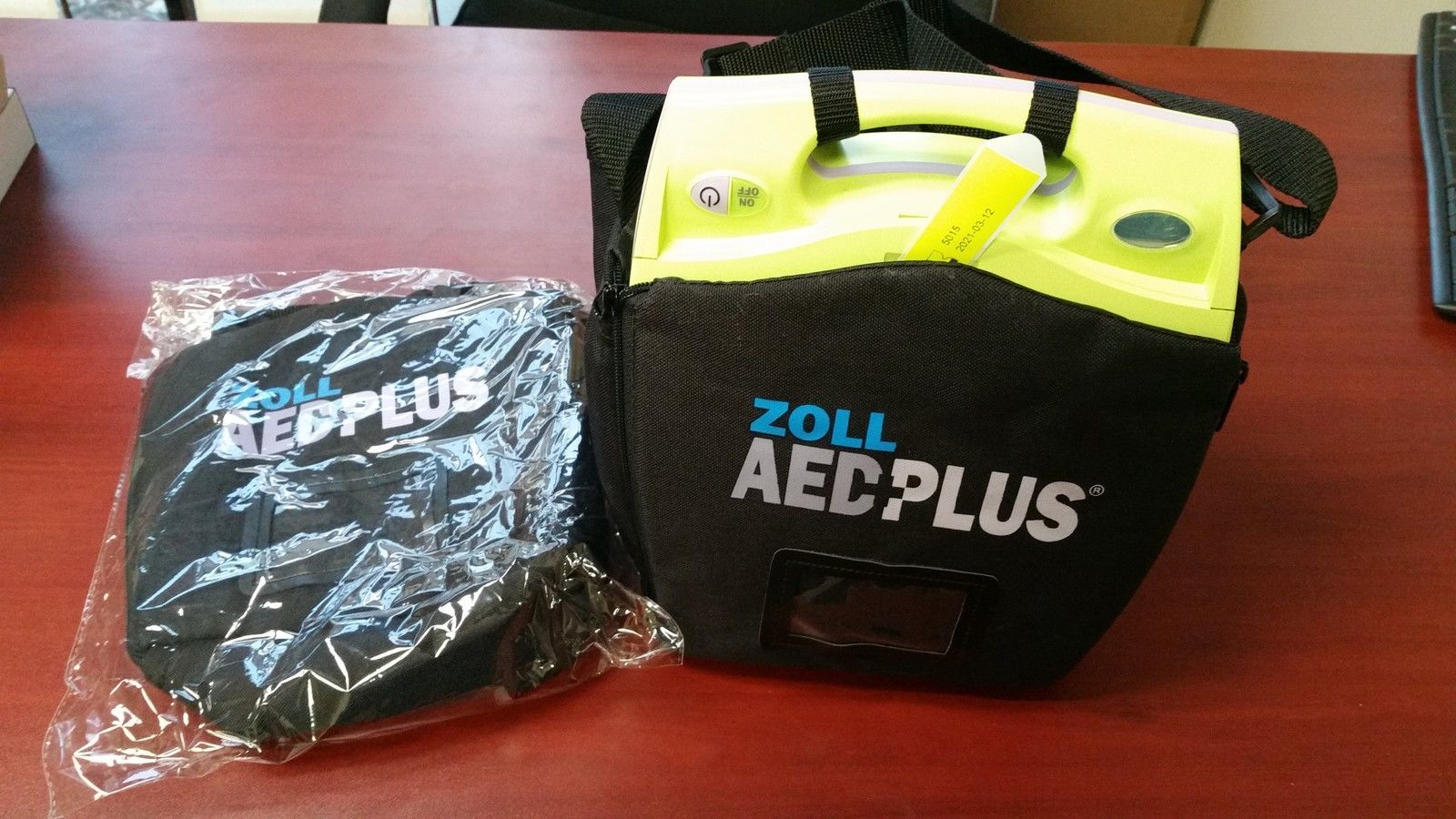 SOFT CARRY CASE for ZOLL AED+Plus  Brand New! Free Shipping