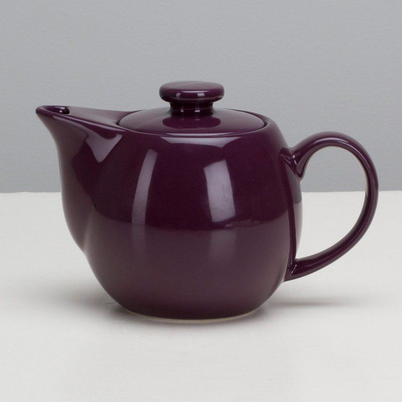 Omni Teaz 14 oz. Teapot with Infuser Aubergine - 1508765