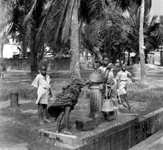 Cape Coast, Ghana, 1940s