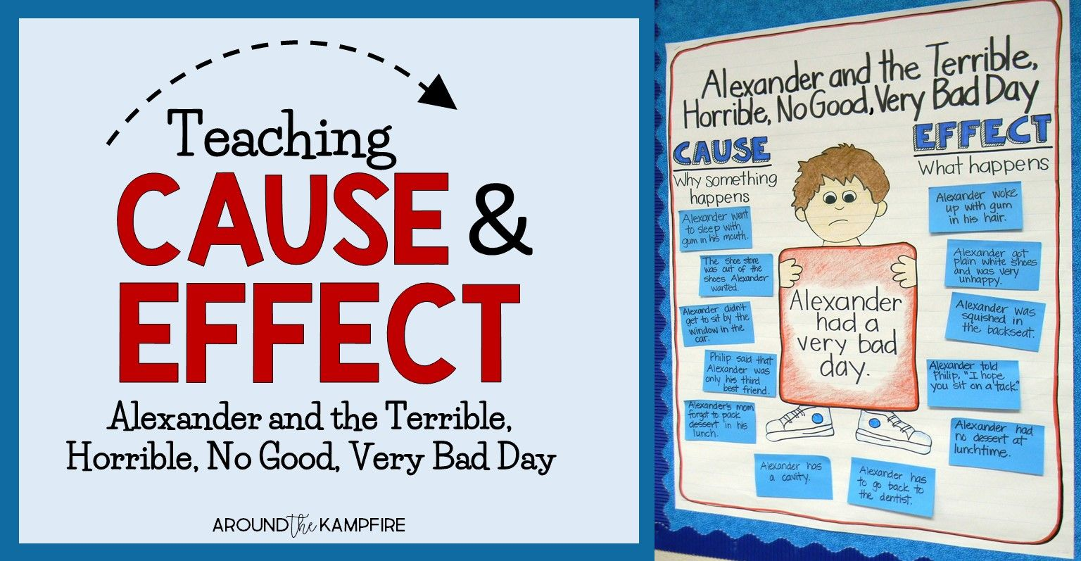 Cause And Effect With Alexander And The Terrible Horrible