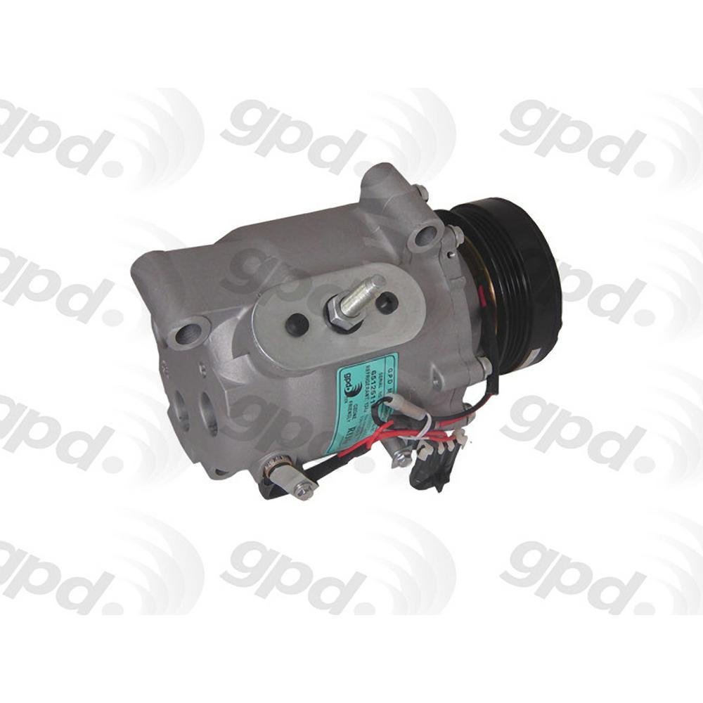 Global Parts Distributors New A C Compressor Fits 2005 2009 Saab 9
