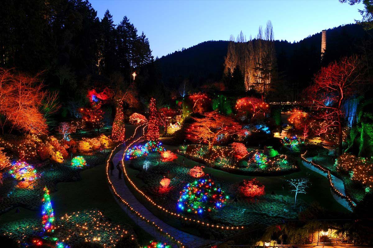 15bc6b6a4c1d6e9d88f76482662ce612 - The Butchart Gardens Christmas Lights Tour