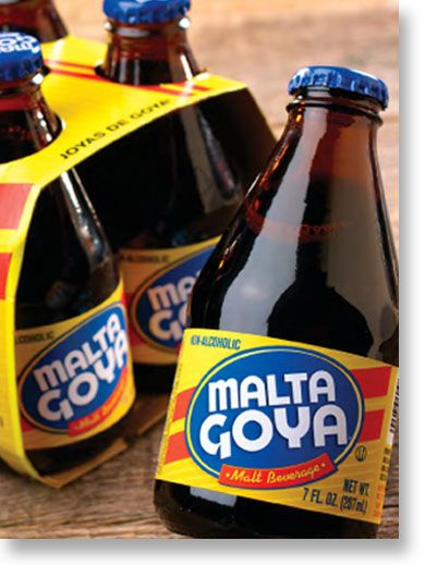 One of my all time favorite drinks, Malta Goya. Pony Malta ...