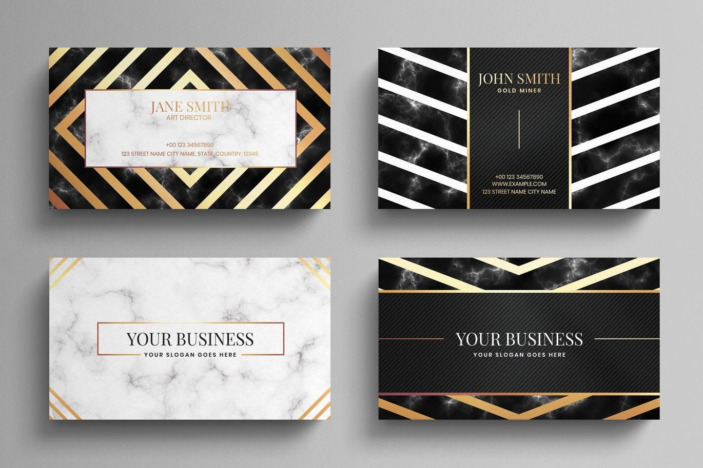 Luxury Business Card Template By Eightonesixstudios On Envato Elements Business Card Template Psd Luxury Business Cards Business Card Template