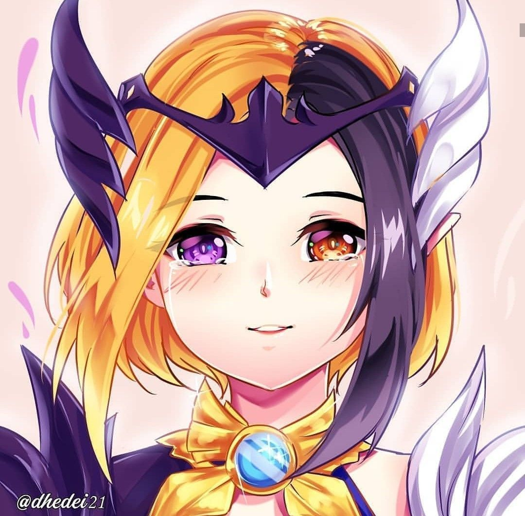 Lunox fanart Mobile Legends don't to follow me