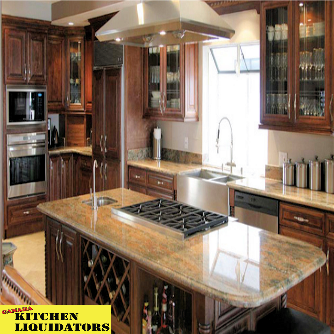 Buy Direct In Canada At Canada Kitchen Liquidators Our Custom Kitchen Cabinets Are O Kitchen Island With Stove Kitchen Cabinet Design Glazed Kitchen Cabinets