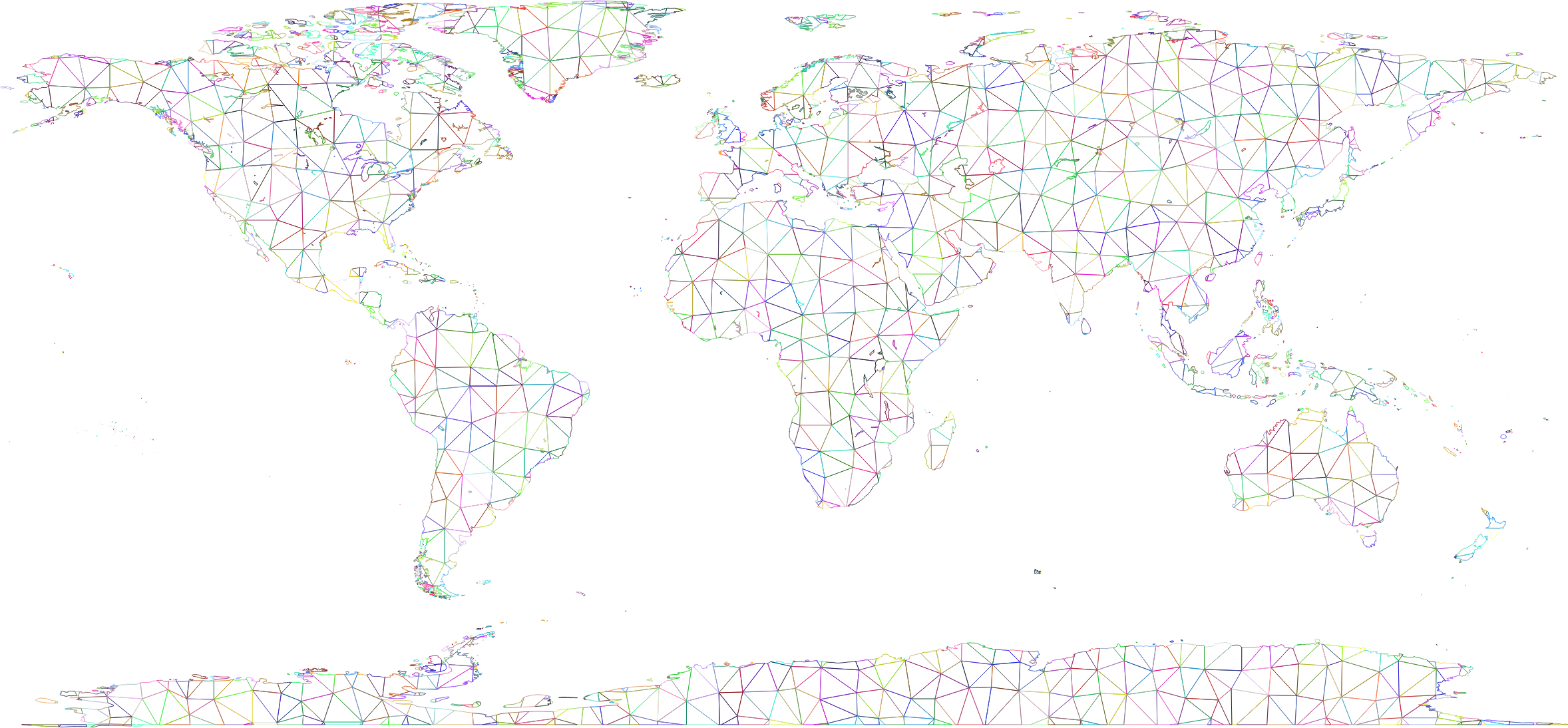 Prismatic world map polygonal wireframe no backgroundg png prismatic world map polygonal wireframe no backgroundg gumiabroncs Gallery