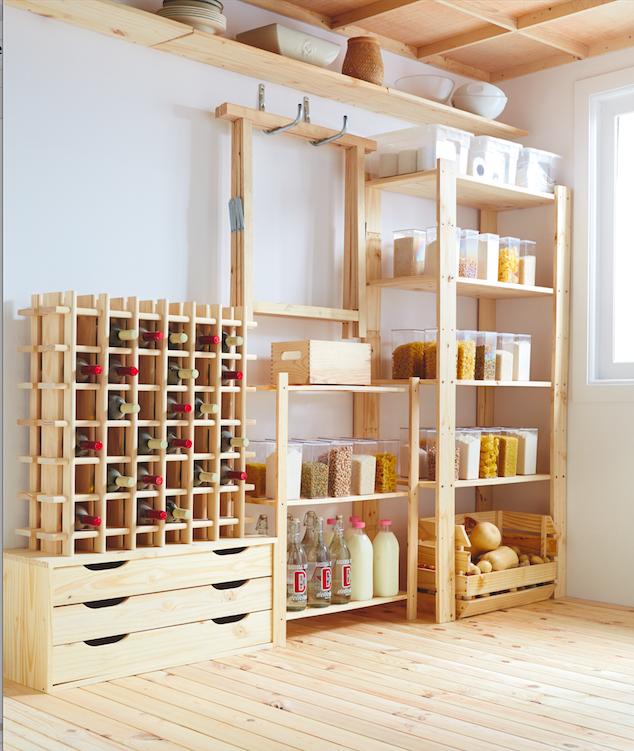 Aprovecha Las Estanterias Y Cajas De Madera Para Crear Un Ambiente Rustico Y Calido En Tu Hogar Leroy Merlin Maison