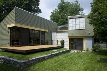 exterior paint schemes northwest contemporary | Modern ...