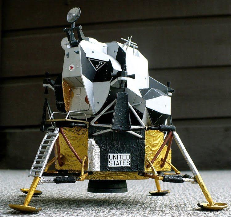 Dragon's 1/48 scale Grumman LM (Lunar Module) Eagle used ...