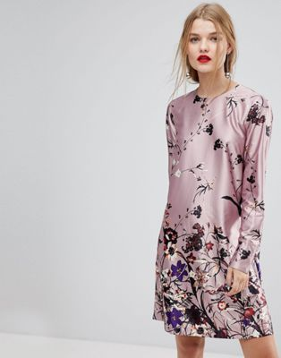 Buy Cheap Footaction Clearance Official Floral Printed Shift Dress - Multi Y.A.S Outlet 2018 New Discount Wiki Really Online VuiPrebI