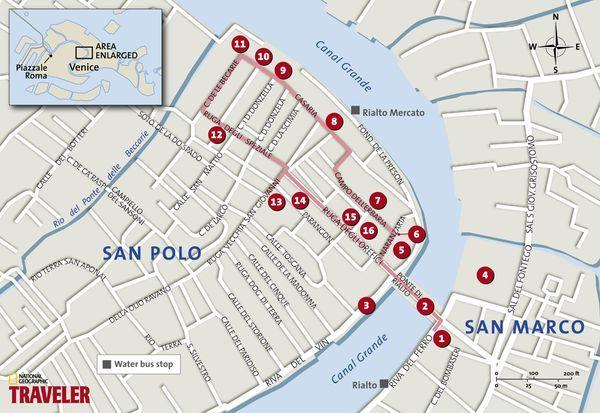 Walking Tour in Venice Rialto Venice Pinterest Italy Travel
