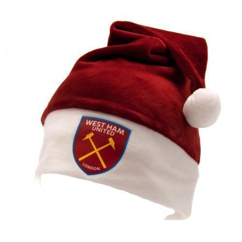ee039de98fb5d West Ham United F C - santa hat - one size fits all - with a swing tag -  official licensed