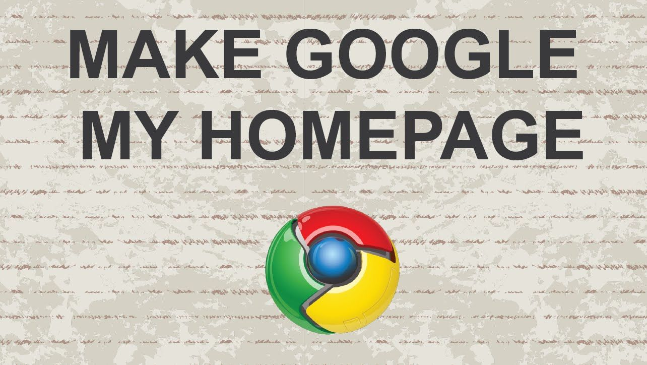 Make Google my homepage (Chrome) #chrome #video #youtube #tutorial