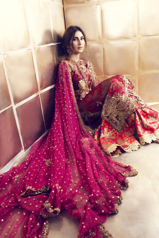 Magnífico Boda Vestidos Pakistani Bandera - Colección de Vestidos de ...
