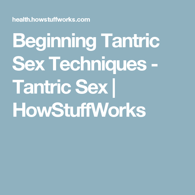 Tantric sex basics