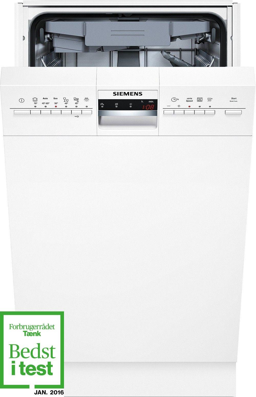 Siemens SR46M280SK Underbygningsopvaskemaskine