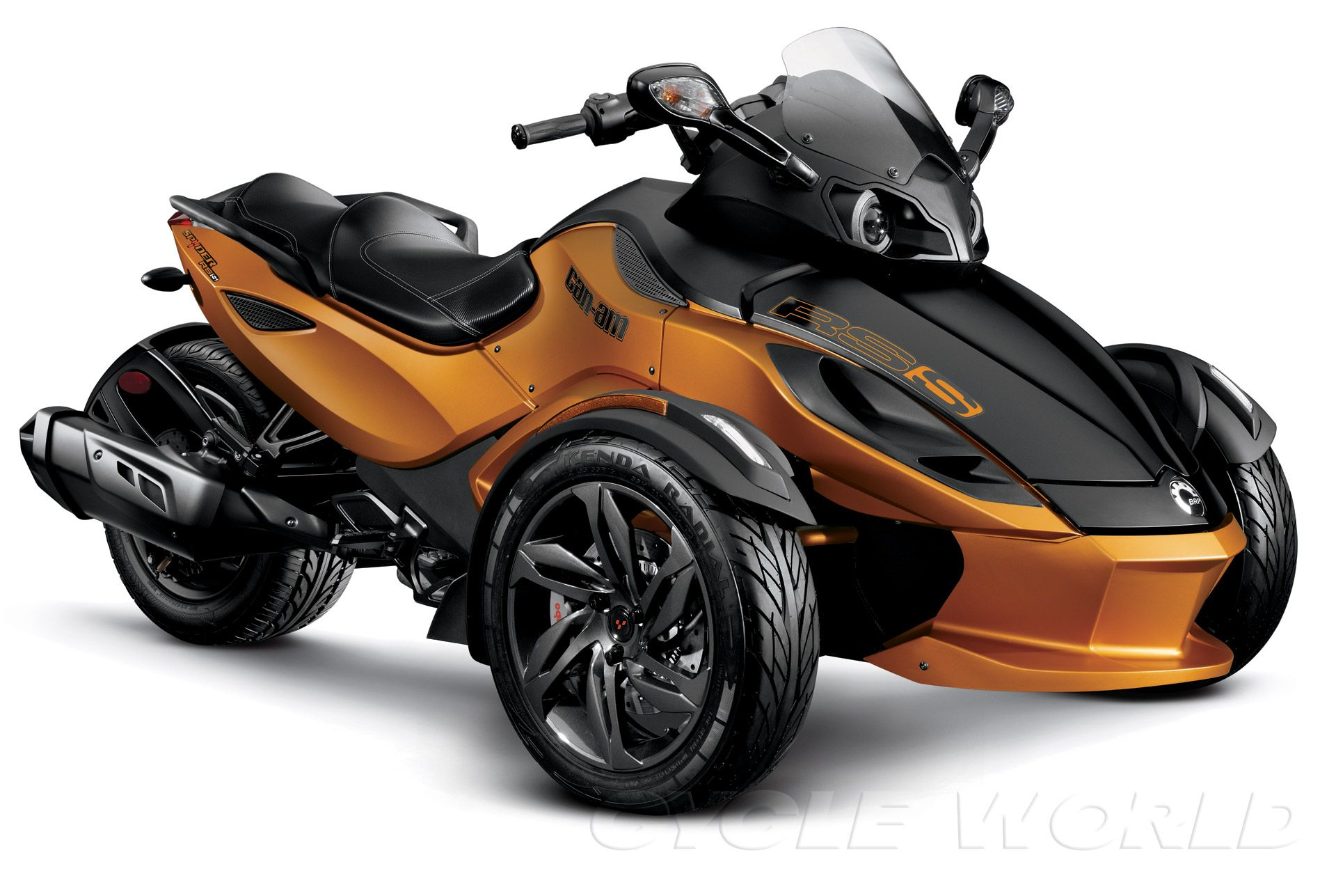 2013 can am spyder rs s studio right 3 4 view