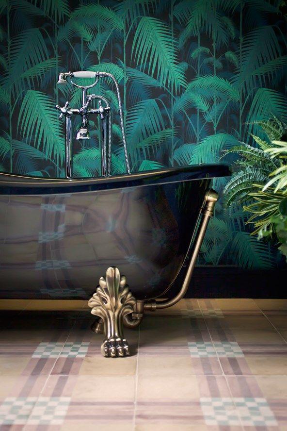 Bathroom Wallpaper Borders Home Depot