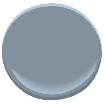 Benjamin Moore Mineral Alloy 1622 Medium Valve Cool Gray Blue More Than
