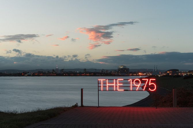 The 1975 Neon Sign Brilliant 1St June 1975  Samuel Burgessjohnson  Photograph  Pinterest  June Inspiration Design