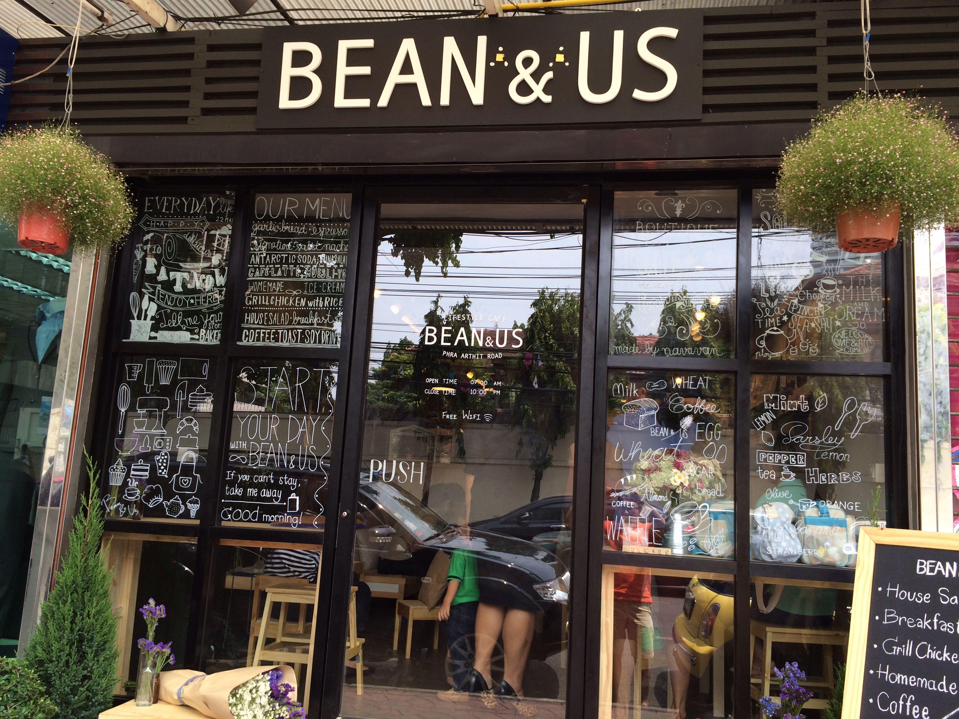 Bean n us super cool coffee shop pha artit rd bangkok
