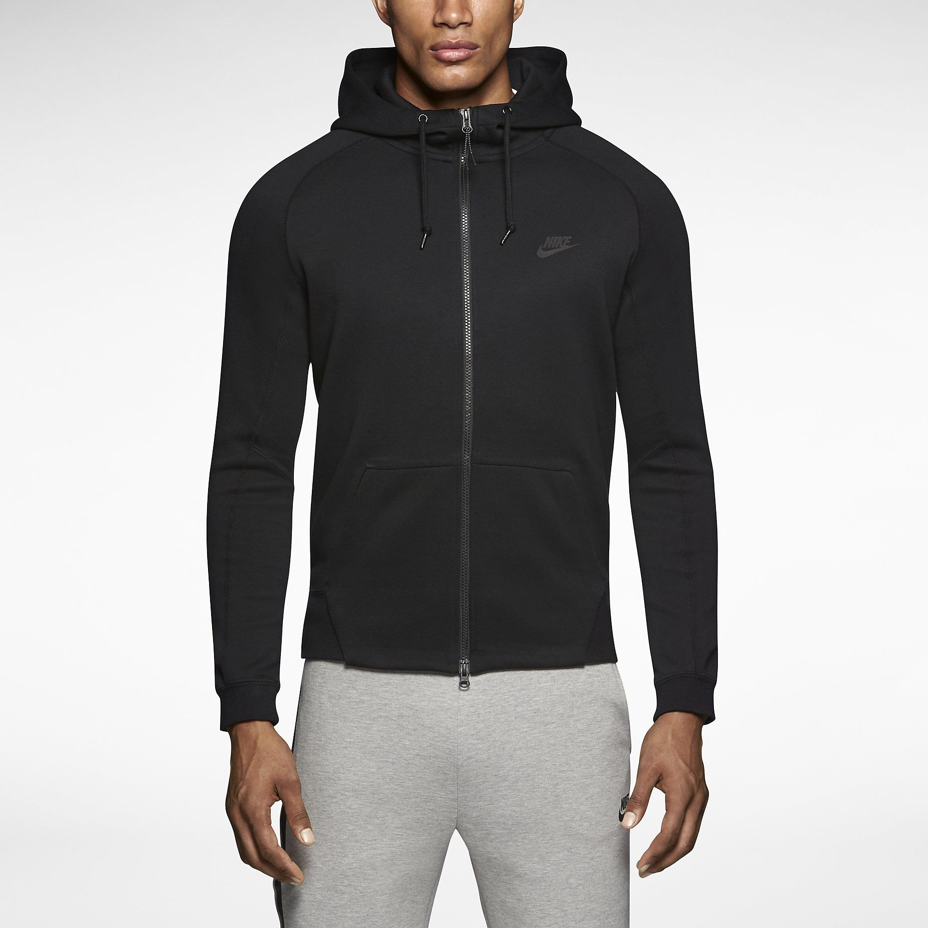 Nike Tech Fleece AW77 Men's Hoodie Black (With images