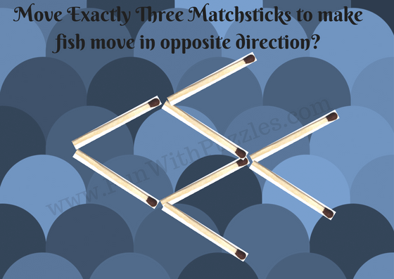 Matchstick Puzzles for kids with answers Brain teasers