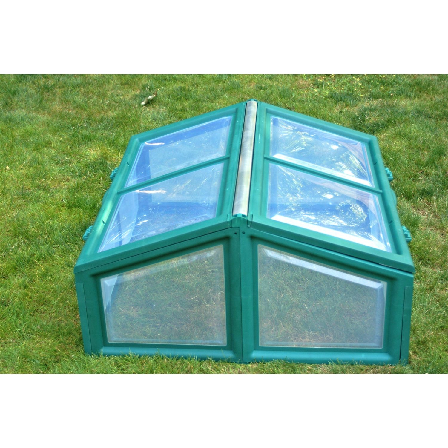 Polycarbonate Cold Frame Mini Greenhouse - Easy to Assemble ...