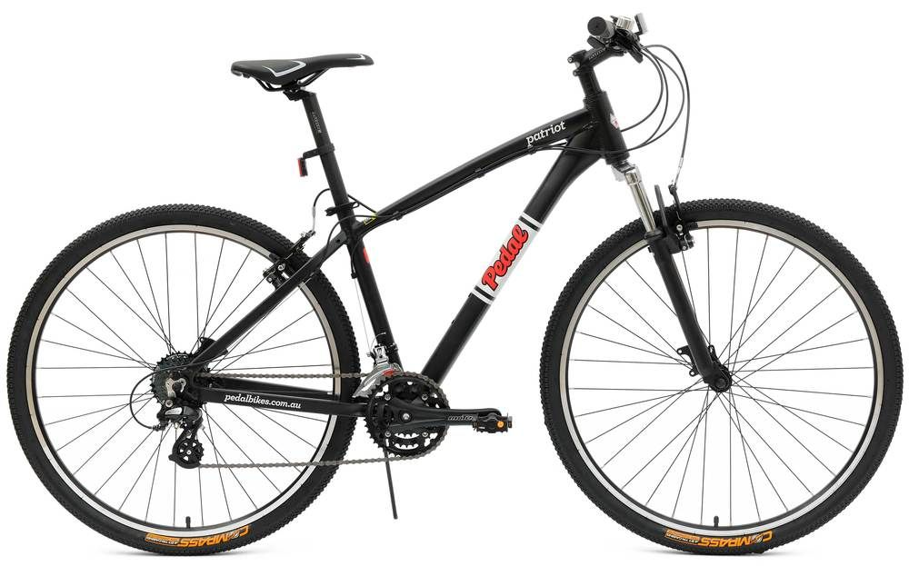 Pedal Patriot is a hardtail mountain bike with 29 inch