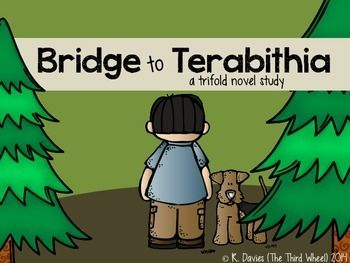 This product contains a two-pack of foldable novel study trifolds for the book Bridge to Terabithia. Designed to be used whole-class, small group, or as an individual book study. Each section of the foldable trifold focuses on a different essential reading comprehension skill and aligns with state and Common Core standards.