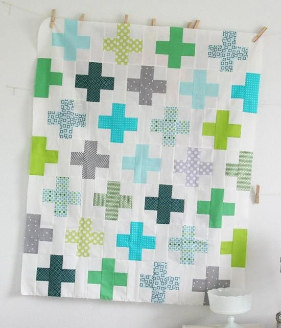 Cluck Cluck Sew's Simple Addition quilt