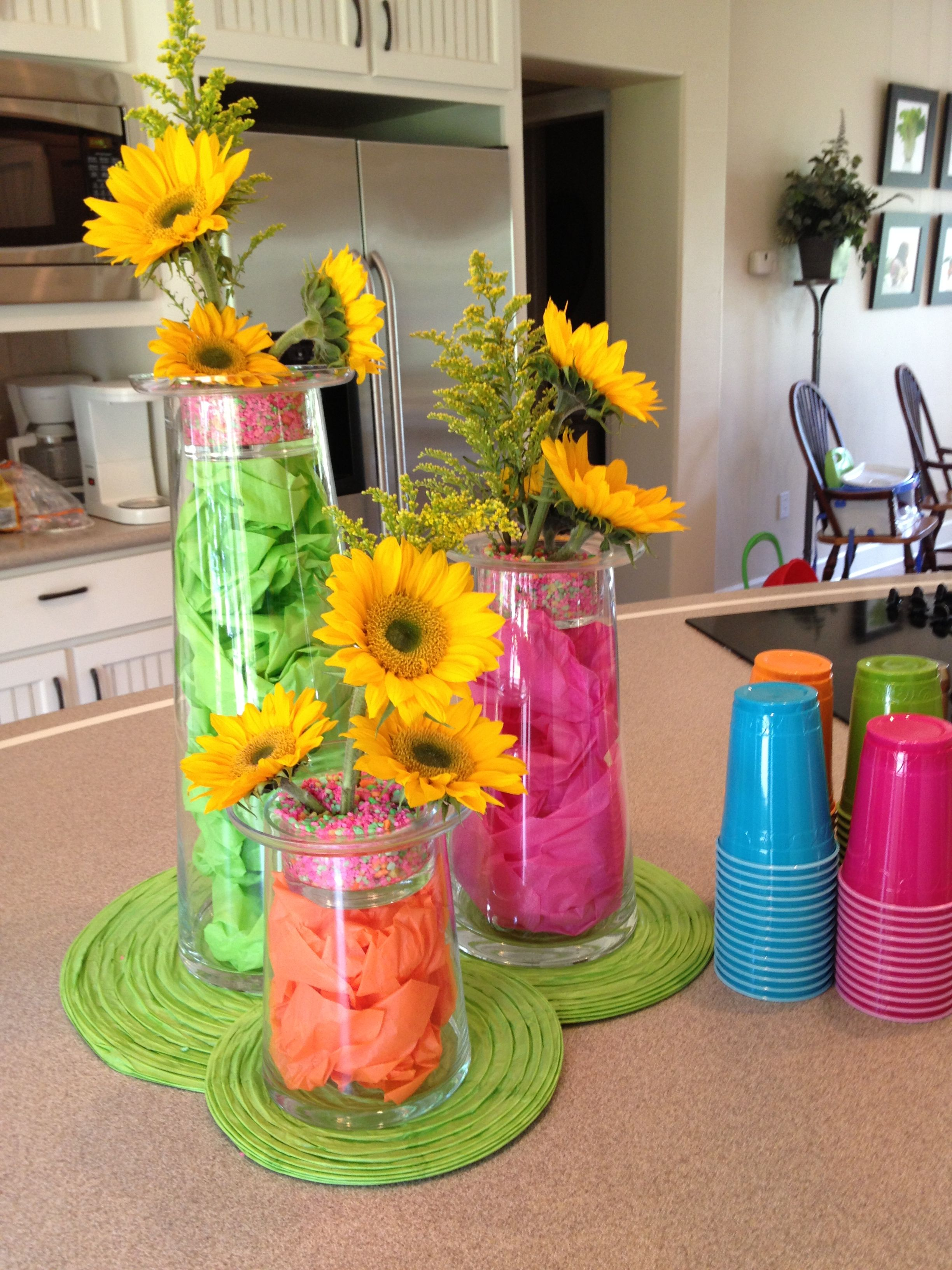 Summer Table Decor Table Decorations Spring Decor Summer Tables