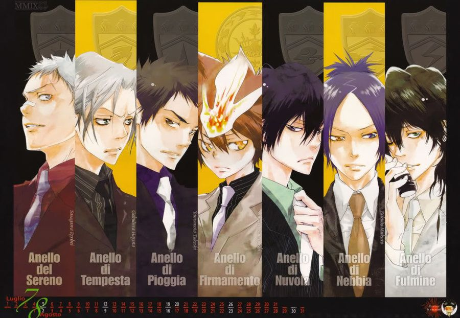 Pin By Chessy On Art Anime Manga Reborn Katekyo Hitman