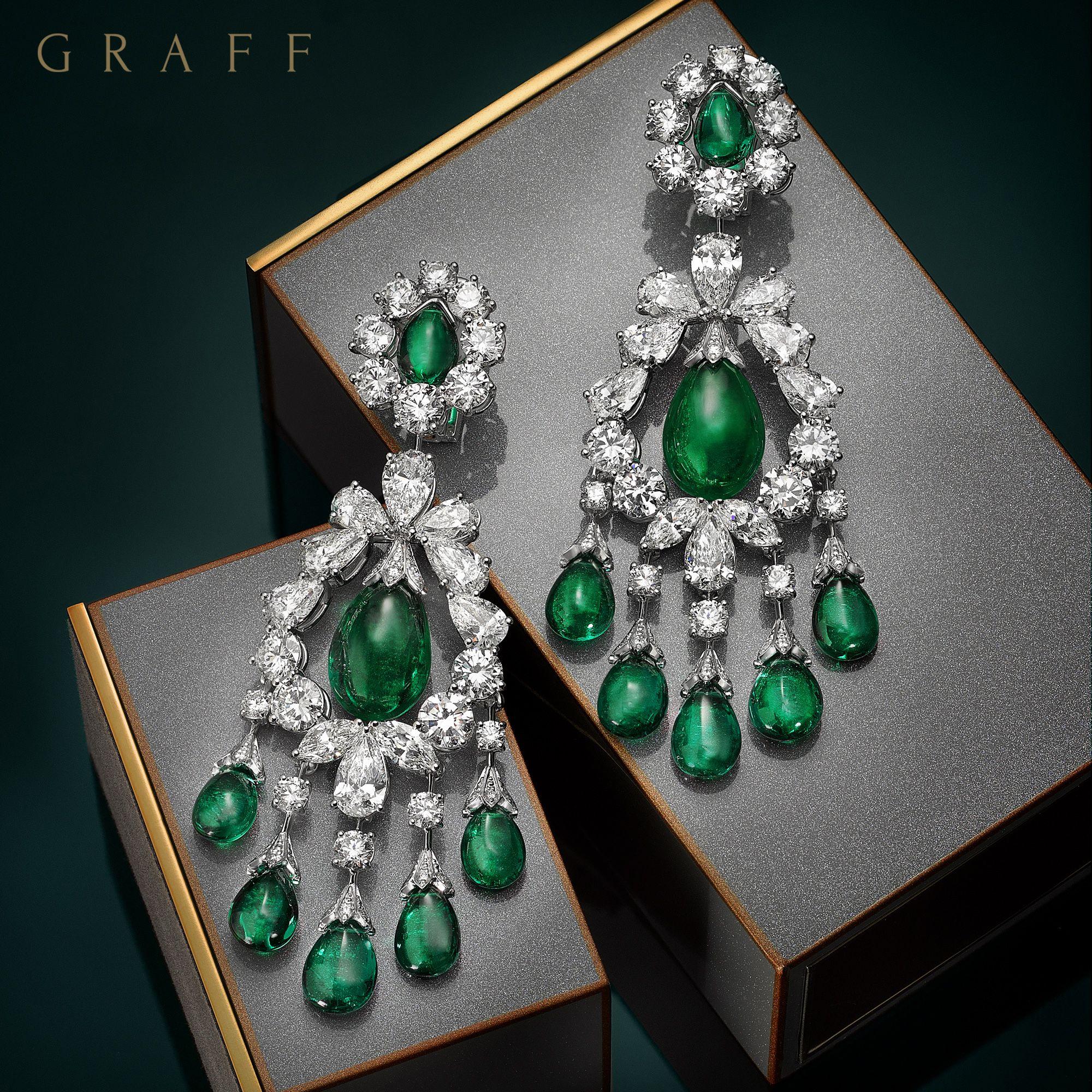 Emerald Diamond Jewellery: Graff Diamonds(@graffdiamonds)