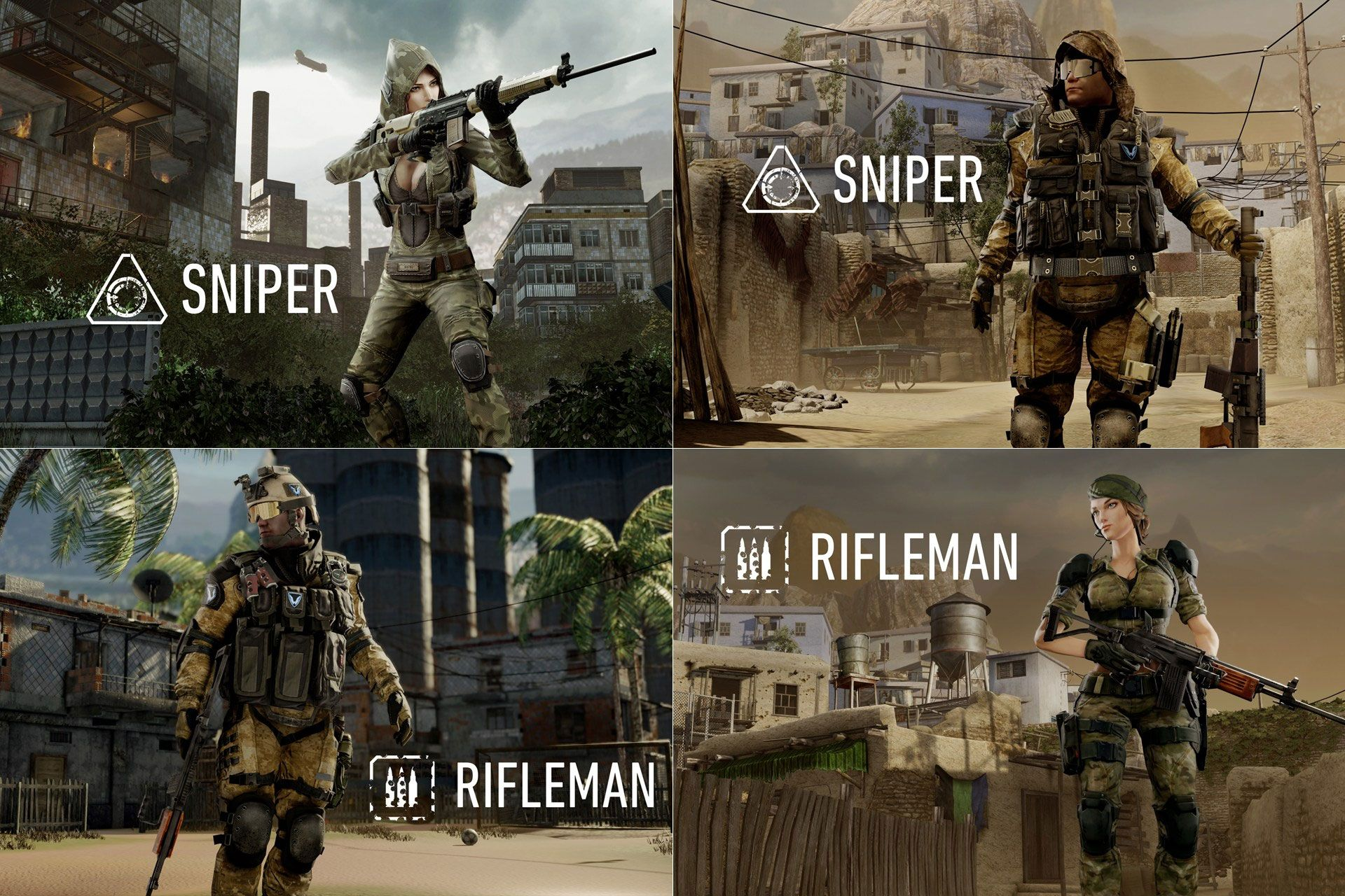 How some gamers want female soldiers to look female