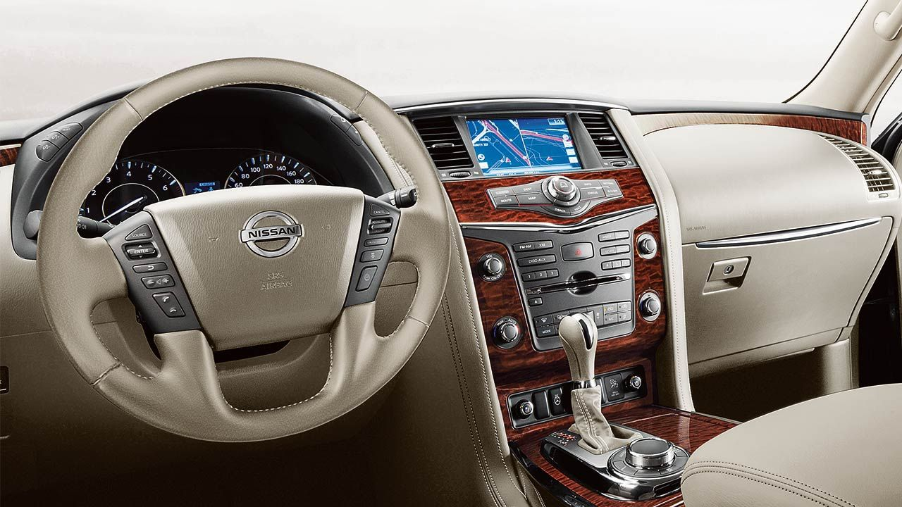 Introducing The 2017 Nissan Armada Nissan Armada Nissan Interior Design Books