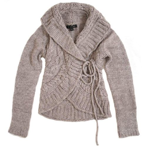 cable knit sweater coffee shop knitted cardigan by C. Luce - $54.99 : ShopRuche.com