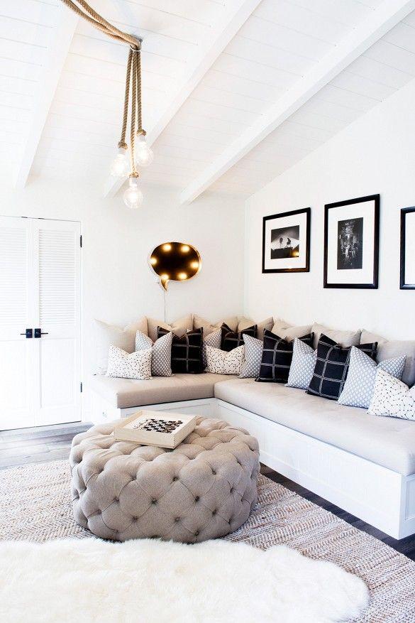 Tour An Interior Designer S Ultra Cool Malibu Farmhouse Home Decor Home Home Living Room