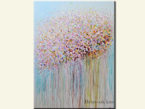 Abstract Art Pastel Shades