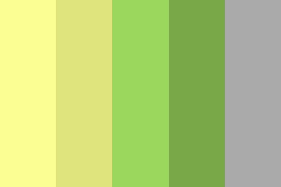 Yellow Green Color Palette Colorpalettes Colorschemes Design