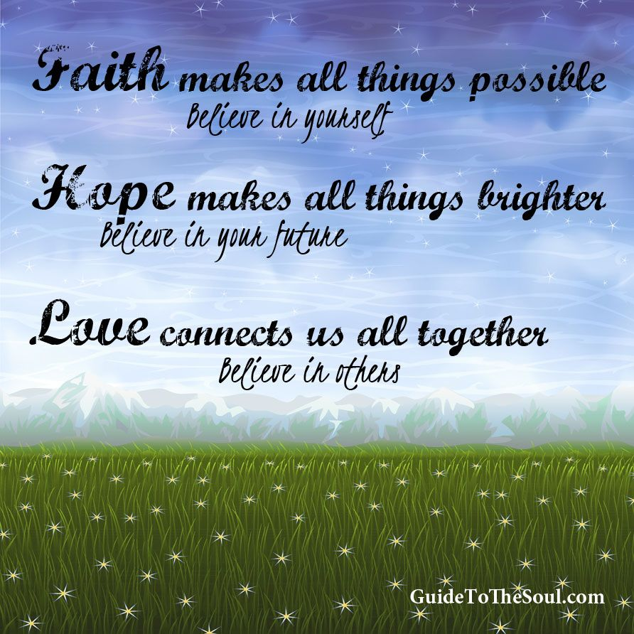 Faith hope love inspirational quotes images Inspirational quotes about hope