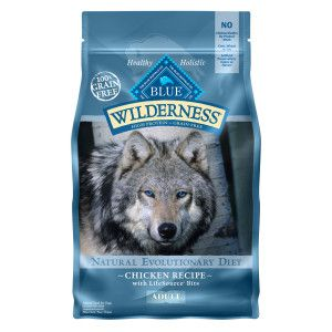 Blue Buffalo Wilderness Adult Dog Food Grain Free Natural