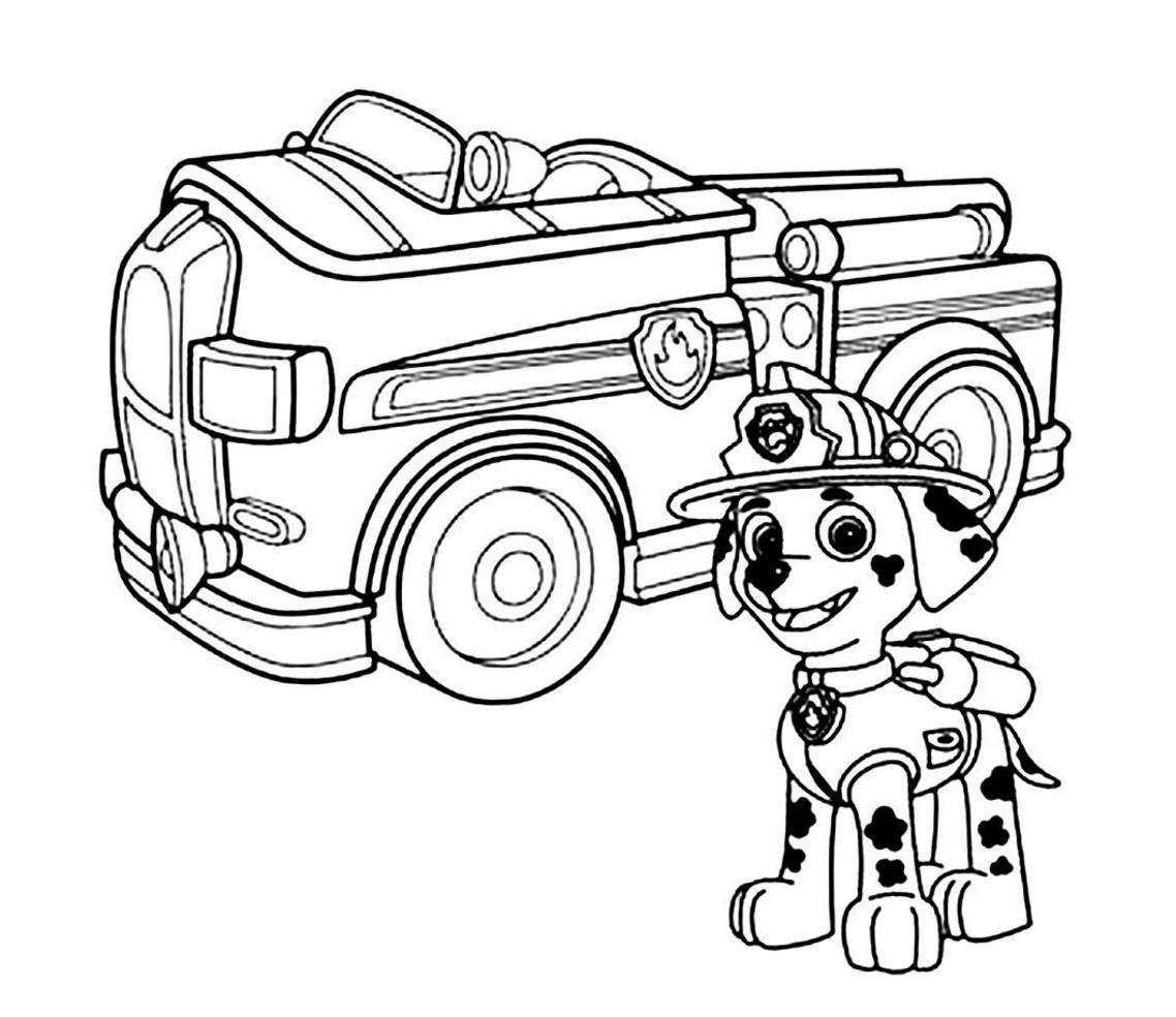 Paw Patrol Coloring Page Paw Patrol Coloring Paw Patrol Coloring Pages Monster Truck Coloring Pages [ 984 x 1138 Pixel ]